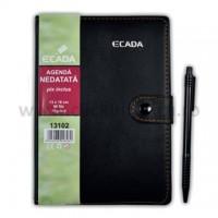 Agenda cu pix Ecada 13 x 18 cm