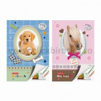 Carte de colorat A4, Herlitz, Pretty Pets