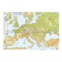 Harta fizica si politica a Europei, A3