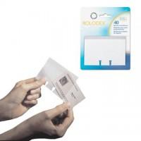 Rezerve pentru modelele cu carti de vizita, 40 folii/ set, Rolodex