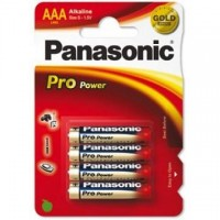 Baterie alcalina R3 – AAA, set 4 bucati, Panasonic Pro Power