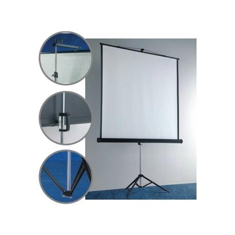 Ecran proiectie pe trepied 127 x 127 cm, SMIT