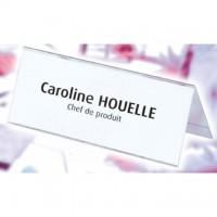Display nume pentru birou 60 x 250 mm, Elba