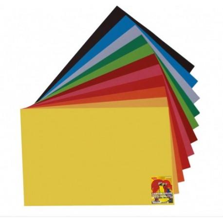 Carton A4 10 culori asortate 240g/mp, 50 coli, Daco