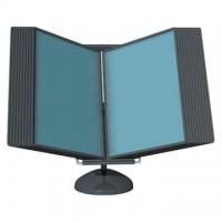Display de birou pentru 10 buzunare A4, Probeco Vip - antracit