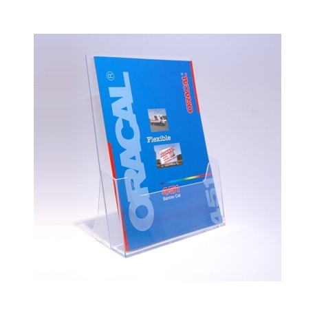 Suport pentru pliante A4 - transparent cristal