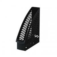 Suport vertical plastic pentru cataloage Herlitz negru