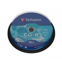 CD-R Verbatim 700MB/52x, 10 buc./cutie
