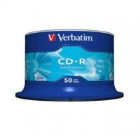 CD-R Verbatim 700MB/52x, 50 buc./cutie