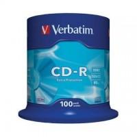 CD-R Verbatim 700MB/52x, 100 buc./cutie