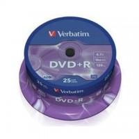 DVD+R Verbatim 4,7GB/16x, 25 buc./cutie