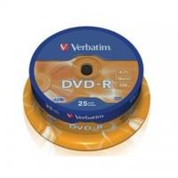 DVD-R Verbatim 4,7GB/16x, 25 buc./cutie