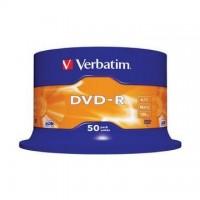 DVD-R Verbatim 4,7GB/16x, 50 buc./cutie