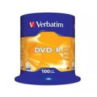 DVD-R Verbatim 4,7GB/16x, 100 buc./cutie