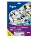 Etichete AGIPA pentru CD, 2 buc./ A4