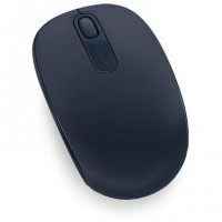 Mouse USB mini wireless, 3 butoane Microsoft Mobile 1850, albastru