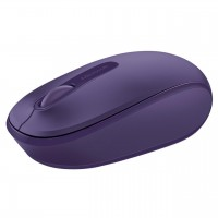 Mouse USB mini wireless, 3 butoane Microsoft Mobile 1850, violet