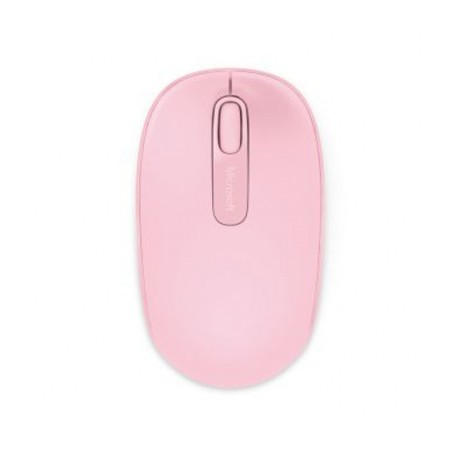 Mouse USB mini wireless, 3 butoane Microsoft Mobile 1850, roz