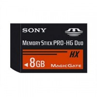 Card Memory Stick Pro HG Duo 8 GB, Sony