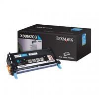 Cartus toner Lexmark X560n, X560dn (C560A2CG) cyan 4K