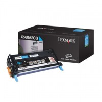 Cartus toner Lexmark X560n, X560dn (C560H2CG) cyan 10K
