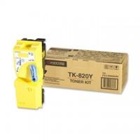 Cartus toner Kyocera TK-820Y (FS-C8100DN) yellow