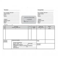 Aviz de insotire a marfii A5, 3 exemplare, alb-roz-verde, autocopiativ, carnet 50 seturi