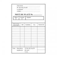 Nota de plata, A6, carnet 100 file, o fata