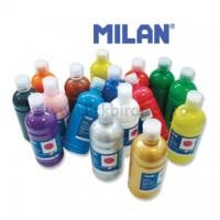Tempera flacon de 500ml, diverse culori, Milan