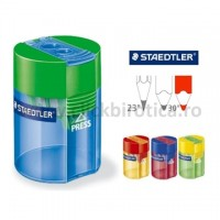 Ascutitoare dubla cu container Staedtler Noris