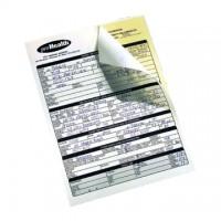 Hartie XEROX autocopiativa A4, 2 exemplare, alb/galben