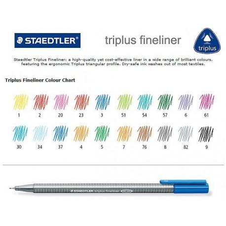 Liner 0,3 mm Staedtler Triplus Fineliner 334