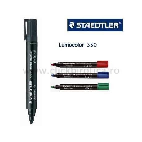 Marker permanent Lumocolor Staedtler 350, varf tesit 2-5 mm