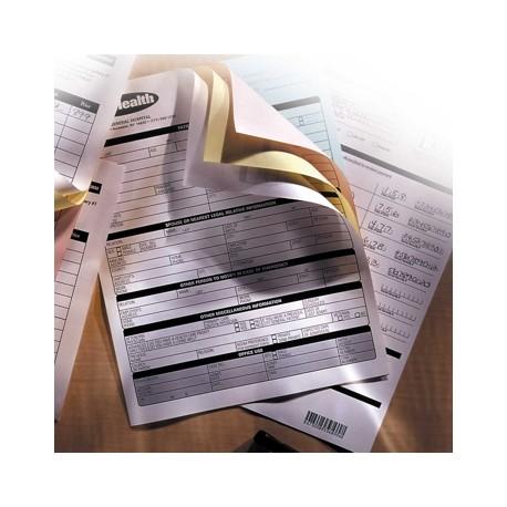 Hartie XEROX autocopiativa A4, 3 exemplare, alb/galben/roz