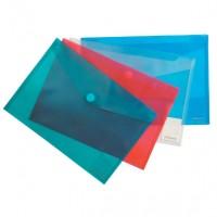 Plic din plastic cu arici, A4 landscape, culori asortare, Erich Krause