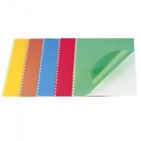 Coperti PVC transparente color A4, 200 microni, 100 BUC./TOP