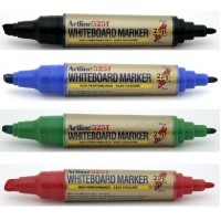 Marker whiteboard 2 in 1, doua capete (2mm / 5mm), ARTLINE 525T