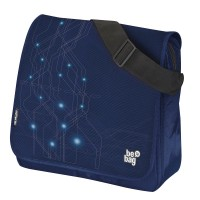 Geanta de umar Herlitz be.bag Messenger Electric