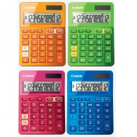 Calculator Canon LS-123K, 12 digiti, alimentare duala
