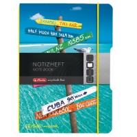 Caiet A6 My.Book Flex 40f patratele Travel, Herlitz