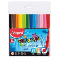 Carioca set 12 culori Maped ColorPeps Ocean