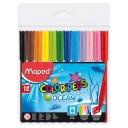 Carioca set 12 culori Maped ColorPeps Ocean
