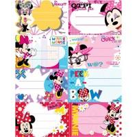 Etichete scolare 8 buc./set Pigna cu licenta - Minnie Mouse