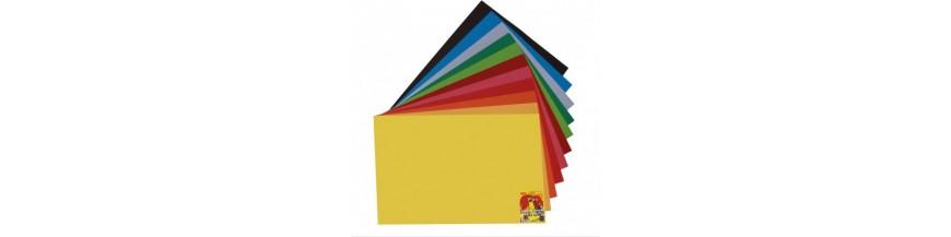 Hârtie şi cartoane color