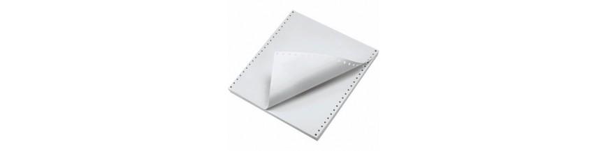 Hârtie cu perforaţii pentru imprimante matriceale