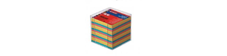 Cuburi pentru notiţe, suporţi cub