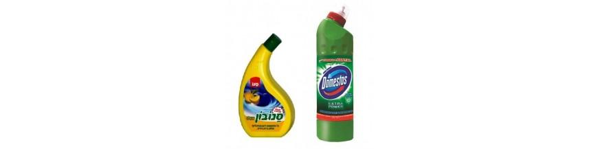 Detergenţi obiecte sanitare, îndepărtarea calcarului