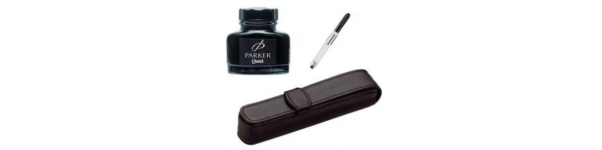 Etui piele, cerneală, convertoare