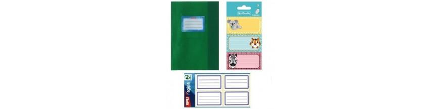 Coperti caiete, carti, etichete
